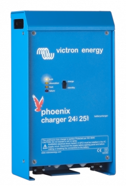 Phoenix IP21 Battery Charger 24V/25A/90-265Vac - (2+1) / Universal Input