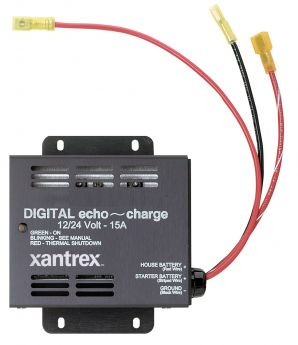 echo~charge 15A 12/24VDC Auxiliary Battery Charger