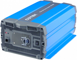 3000W, 12VDC -> 115VAC, H.F. Pure Sine Wave inverter  Hardwire UL APPROVED