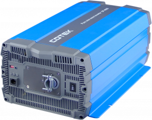 4000W, 24VDC -> 115VAC, H.F. Pure Sine Wave inverter  Hardwire UL APPROVED