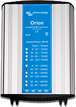 Orion 48V to 24V - 380W 16A Isolated DC/DC Converter