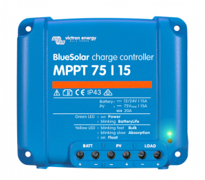 BlueSolar MPPT Charge Controller 75/15 (12/24V-15A)