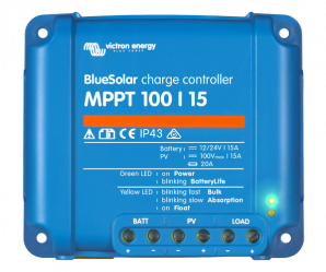 BlueSolar MPPT Charge Controller 100/15 (12/24V-15A)