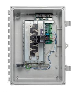 AC Combiner Box with IQ Envoy PCB, 80A, Single-Phase Software.