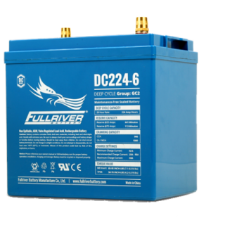 6V 224Ah (C20) Deep Cycle AGM Battery