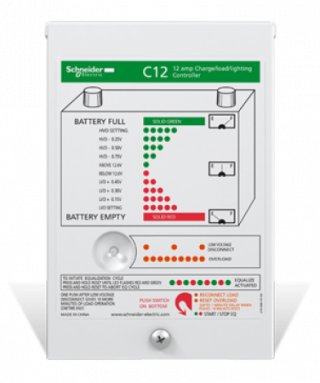 C12 PWM Charge Controller