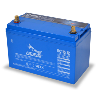 12V 115Ah (C20) Deep Cycle AGM Battery