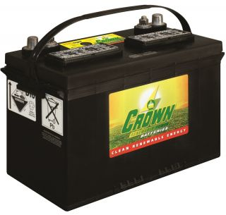 12V 165Ah (C100) Renewable Power Flooded Lead Acid Battery