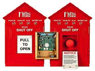 Birdhouse - Red Emergency Disconnect Switch