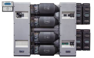 FLEXpower Four 12kW 48V Pre-wired FXR Series System 120/240