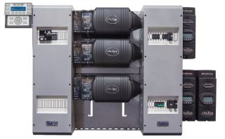 FLEXpower Three 10.8kW 48V Pre-wired VFXR Series System 120/208