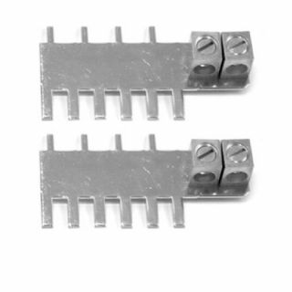 Outback Power Combiner Bus Bar with Dual #2/0 AWG Output Lugs