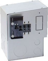 FW 250 DC and/or AC breaker enclosure