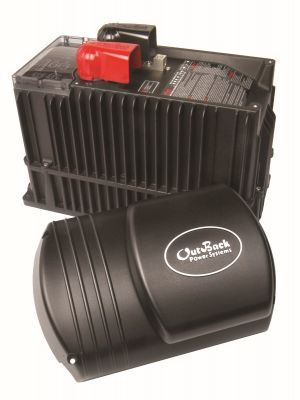 VFX2812M 12VDC 120VAC 2800Watt,  125A Continous Battery Charge Inverter/charger