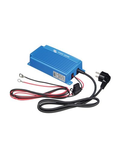 Blue Power IP65 Battery Charger 24V/12A/115V - 1 Output / Waterproof Universal Input