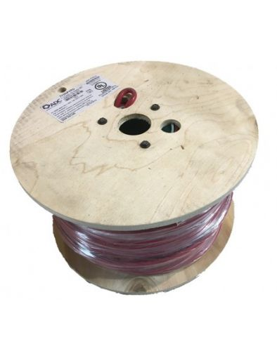 600V 10AWG Dual Pass UL4703 PV Cable - 500' Reel Red