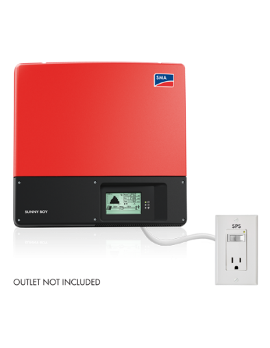 Sunny Boy 3.8kW Solar Inverter - 2 MPPT - 208/240VAC with SPS Function