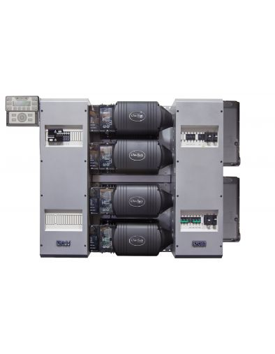 FLEXpower Four 14.4kW 48V Pre-wired FXR Series System 120/240 with 300VDC 100A CC's