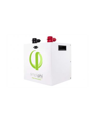 Simpliphi PHI 2.4 kWh High Power LFP Battery, 24V