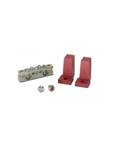 Short Bus Bar Kit with Red insulators