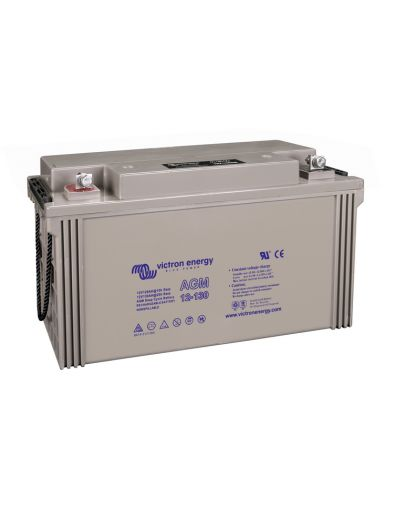 12V/130Ah AGM Deep Cycle Battery