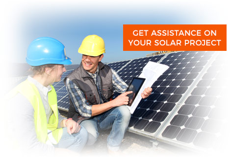 Get Assistance On Your Solar Project